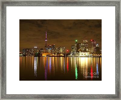 Bright Lights Big City Framed Print by Lingfai Leung