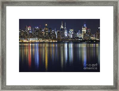 Bright Lights Big City Framed Print