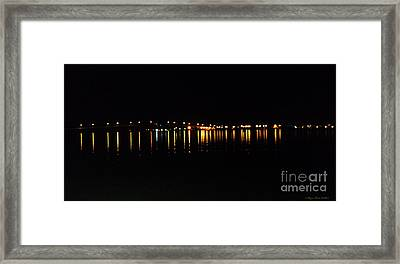 Framed Print featuring the photograph Bright Lights by Megan Dirsa-DuBois