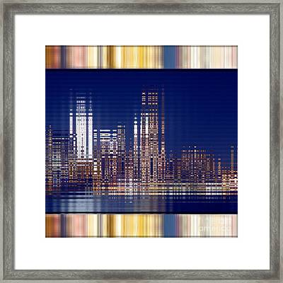 Bright Lights Of The City Framed Print