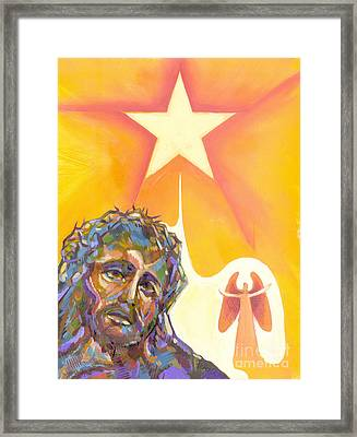Bright Morning Star Framed Print by Peter Olsen