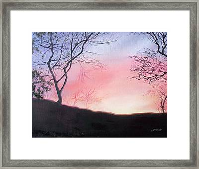 Bright New Day Framed Print