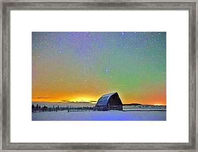 Bright Night Framed Print by Matt Helm
