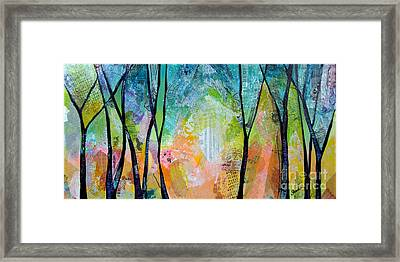 Bright Skies For Dark Days I Framed Print
