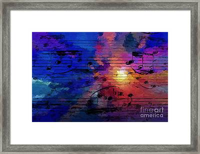 Framed Print featuring the digital art Bright Spot by Lon Chaffin