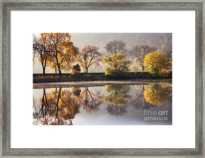 Bright Start To The Day Framed Print