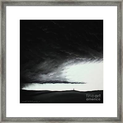 Brighter Days Ahead Framed Print by Chris Mackie