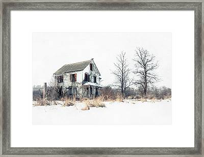 Brighter Days - The Abandoned Farmhouse Of A Serial Killer Framed Print