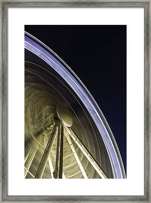 Brighton Eye Tron Framed Print by Jonathan Jones