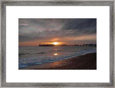 Brighton Pier Framed Print by Jacqui Collett
