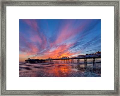 Brighton Sunset Framed Print