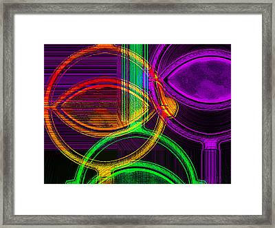 Brights Framed Print