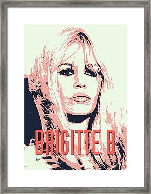 Brigitte B Framed Print by Chungkong Art