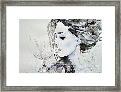 Brigitte Bardot Framed Print by Ismeta Gruenwald