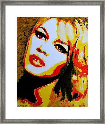 Brigitte Bardot Framed Print