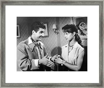 Brigitte Bardot's First Film Framed Print
