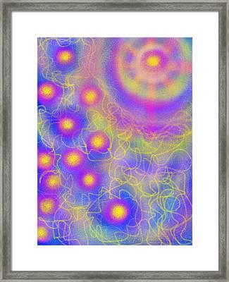 Brilliance Upon A Star Framed Print