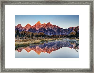 Brilliant Cathedral Framed Print by Mark Kiver