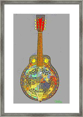 Brilliant Dobro 2 Framed Print