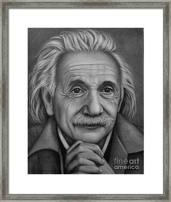 Brilliant Mind Framed Print by Paula Ludovino