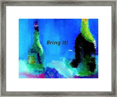 Bring It Framed Print by Lisa Kaiser