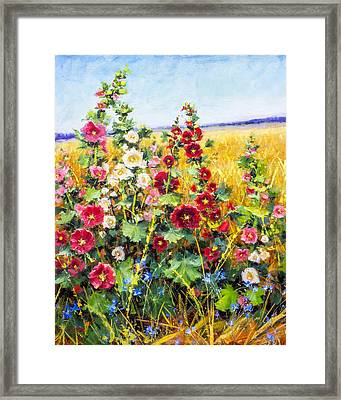 Bring On The Heat Framed Print by Bill Inman
