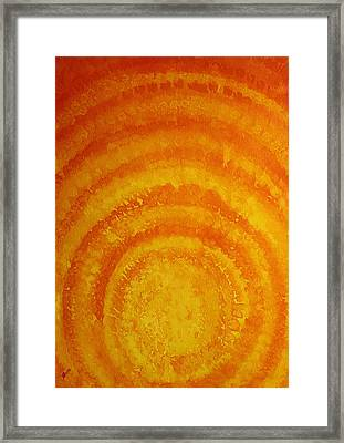 Bring The Light Original Painting Framed Print by Sol Luckman