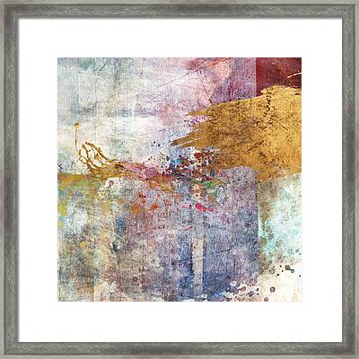 Bring Wine Square Framed Print by Aimee Stewart