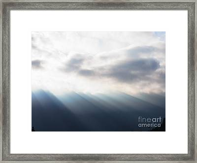 Bringer Of Light Framed Print