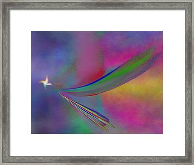 Bringer Of Peace Framed Print