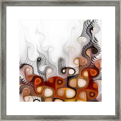 Framed Print featuring the digital art Bringers Of Prophecy by NirvanaBlues