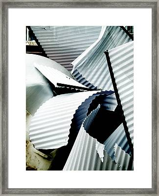 Bringing Down The Roof Framed Print by Steve Taylor
