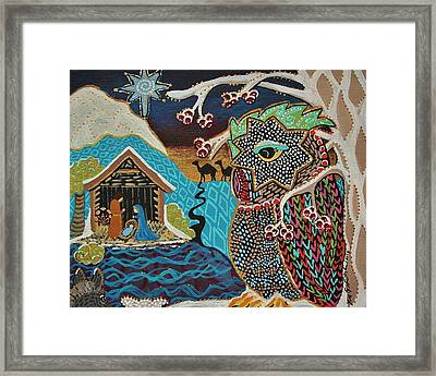 Bringing Light And Joy Both Near And Far Framed Print