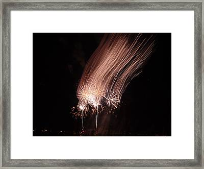 Bringing The Moon Air Home Framed Print
