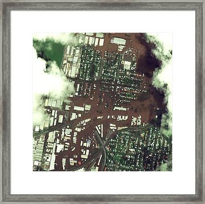 Brisbane Floods Framed Print