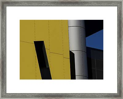 Brisbane Square Abstract 1 Framed Print