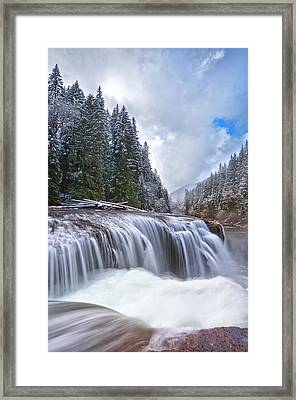 Brisk Winter Morning Framed Print by Darren  White