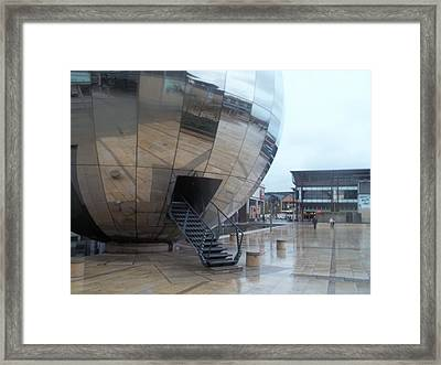 Bristol Alien Landing Framed Print by James Potts