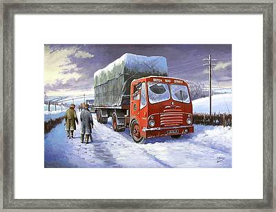 Bristol Ha Brs Framed Print by Mike  Jeffries