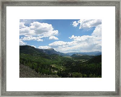 Framed Print featuring the photograph Bristol Head Mountain by Susan D Moody