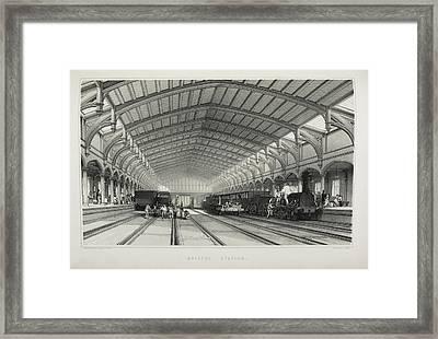 Bristol Station Framed Print