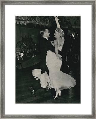 Brit I H Pajr Wins Dancing Grand Prix Framed Print by Retro Images Archive