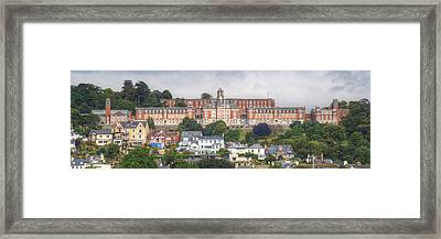 Britannia Royal Naval College Framed Print