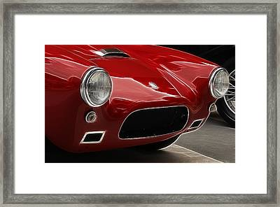 British Ac Auto 1 Framed Print by Wes and Dotty Weber