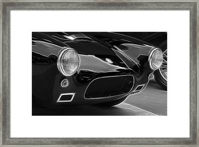 British Ac Auto 2 Framed Print by Wes and Dotty Weber