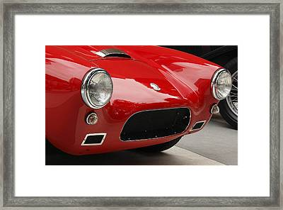 British Ac Auto Framed Print by Wes and Dotty Weber