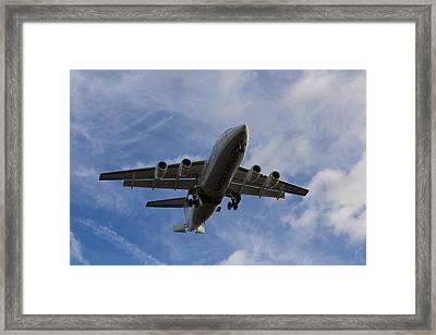 British Aerospace Avro Rj85 Framed Print