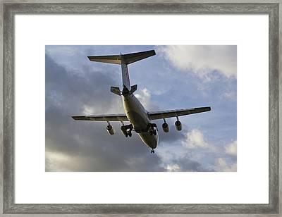 British Aerospace Bae 146 Framed Print