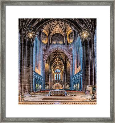 British Cathedral Framed Print