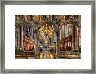 British Church Framed Print by Adrian Evans